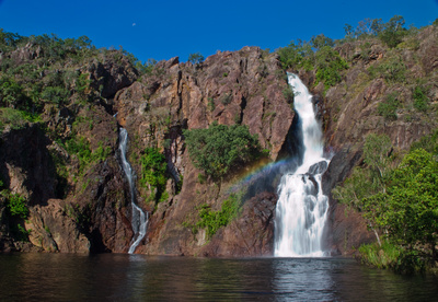 Wangi waterfall in Litchfield National Park, Northern Territory, Australia