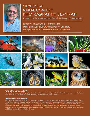 A Unique One Day Nature Photography Seminar Darwin