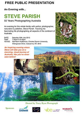 An Evening with Steve Parish - 50 Years of Photographing Australia