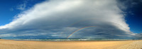 Double Rainbow, Teewah Beach